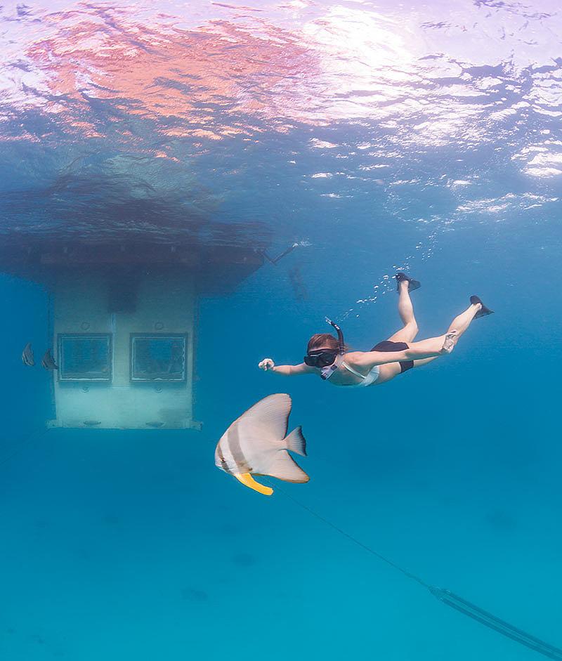 Floating Hotel Room Zanzibar