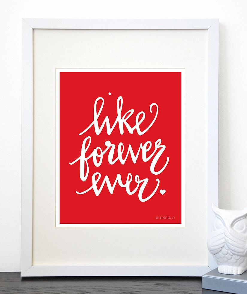 Like forever ever ($20-$32)