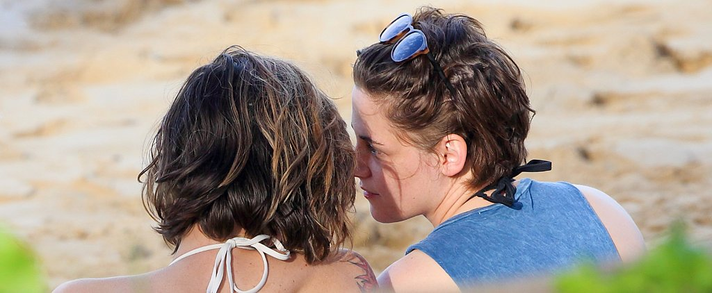 Kristen Stewart and Her Gal Pal Show Sweet PDA in Hawaii