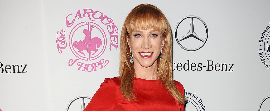 Kathy Griffin Vows to Let People Have It on Fashion Police