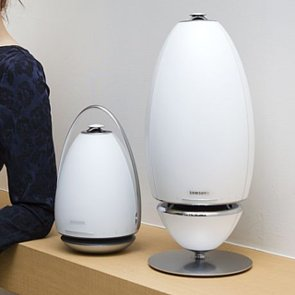 Samsung 360-Degree White Speaker
