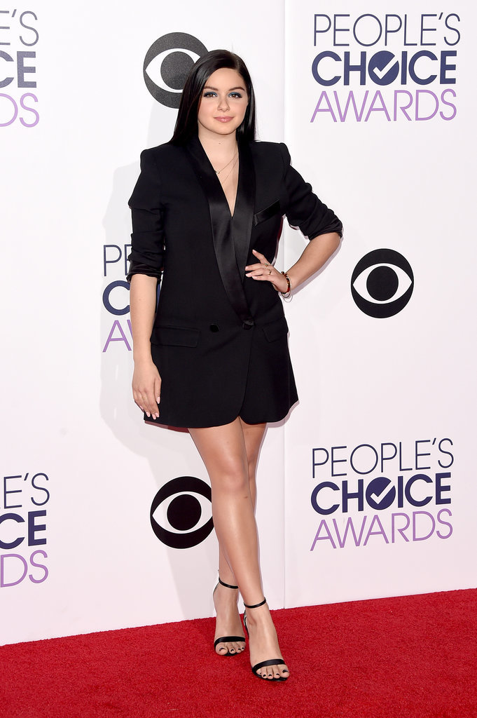 Ariel Winter 21 Unforgettable Outfits From The 2015 People 39 S Choice Awards Popsugar Fashion