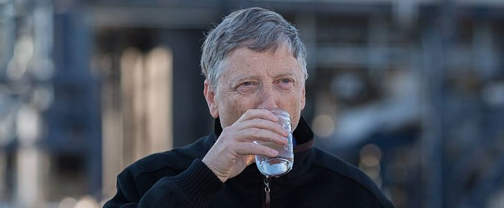 Bill Gates Is Turning Poop Into Yummy, Drinkable Water