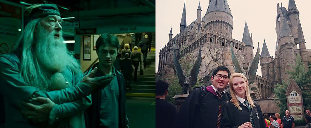 Man Flies His Girlfriend 5,000 Miles to Give Her the Perfect Harry Potter Proposal