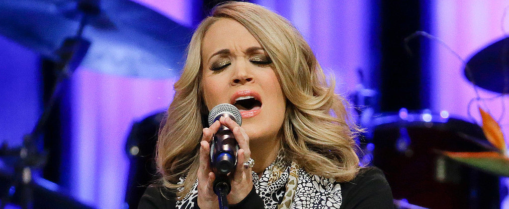 Pregnant Carrie Underwood Hit the Stage to Perform a Special Tribute