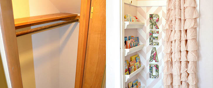 How to Turn a Closet Into Extra Living Space