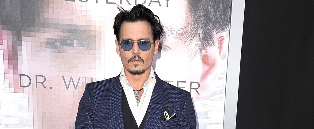 We Haven't Seen Johnny Depp Look This Hot in a Long Time