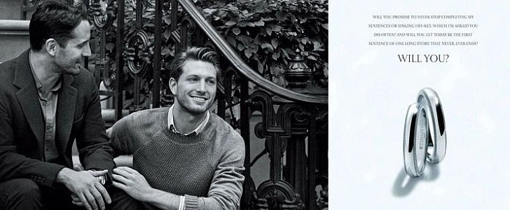 This New Tiffany Engagement Ring Ad Featuring a Gay Couple Is So Sweet