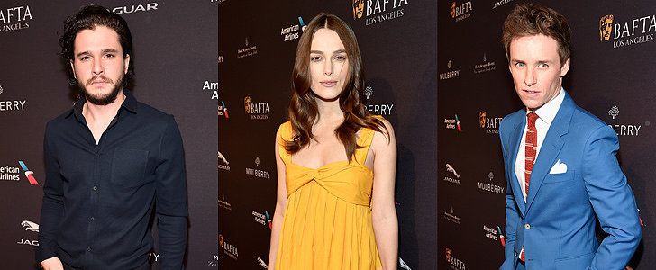 Both the Guys and the Girls Brought Their Fashion A Game to the BAFTA LA Tea Party