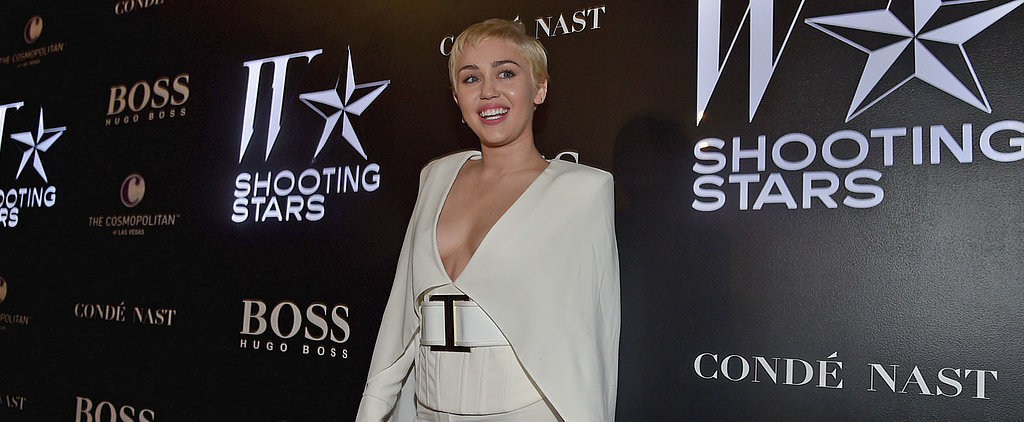Miley Cyrus Might Have Been the Most Covered Up at W Mag's Friday Fete