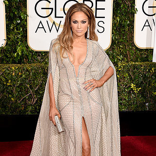 Jennifer Lopez in Sexy Zuhair Murad at 2015 Golden Globes
