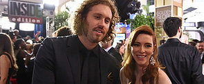 Yes, T.J. Miller Brought His Own Booze to the Golden Globes Red Carpet