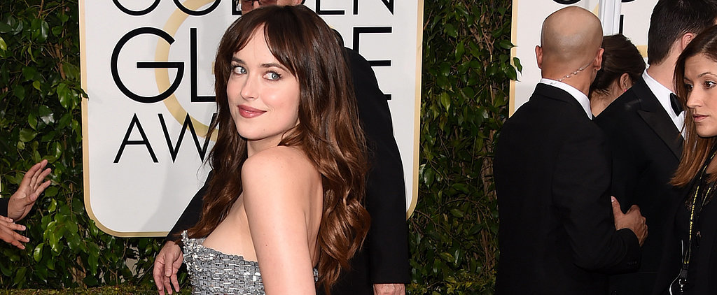 Dakota Johnson Chose the Right Shade of Grey For the Golden Globes