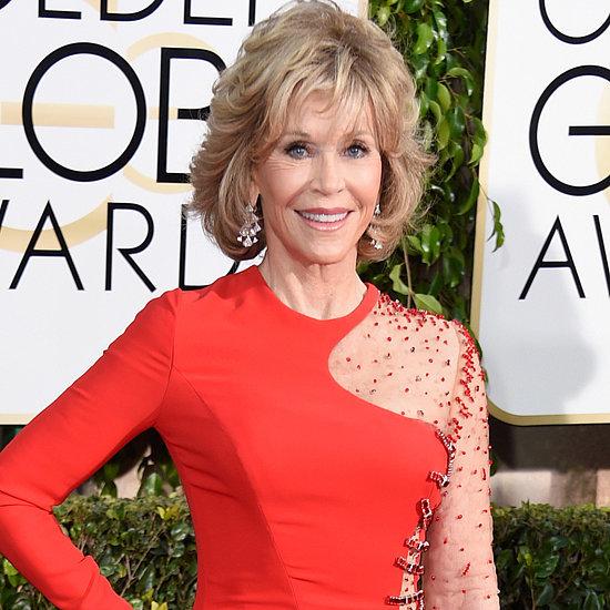 Paramedics at Golden Globes For Jane Fonda's Boyfriend