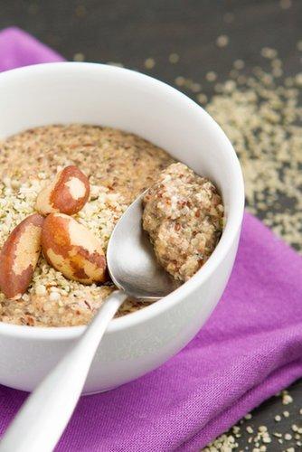 Grain-free Hemp Heart Porridge