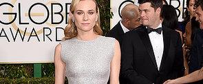 Does Diane Kruger Shimmer in Silver Emilia Wickstead?