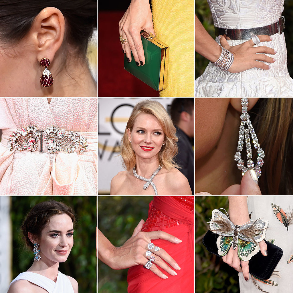 Enough Golden Globes Shoes, Bags, and Jewels to Make You Swoon