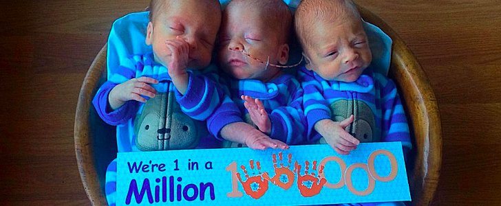 """One-in-a-Million"" Identical Triplets Born in Montana"
