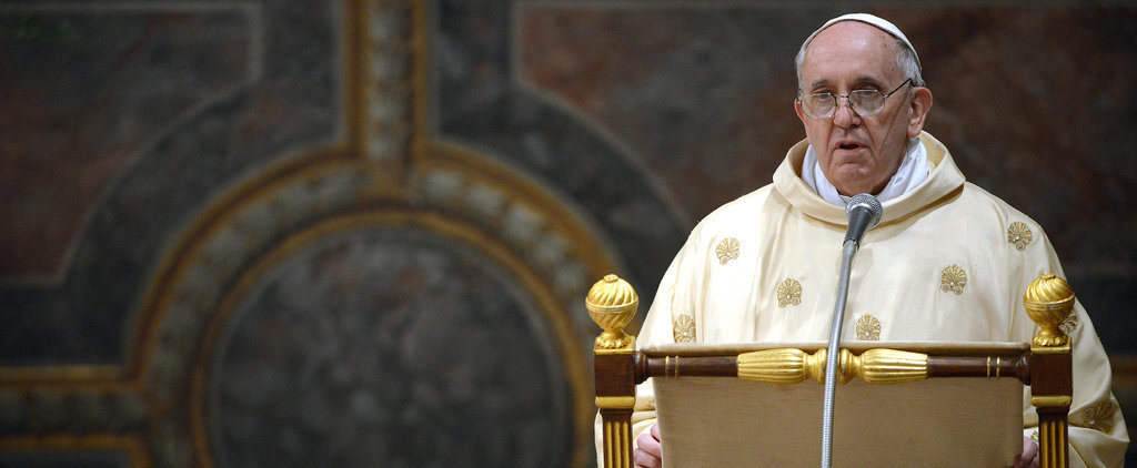 Pope Francis Shows Support For Public Breastfeeding, Urging Mothers Not to Worry