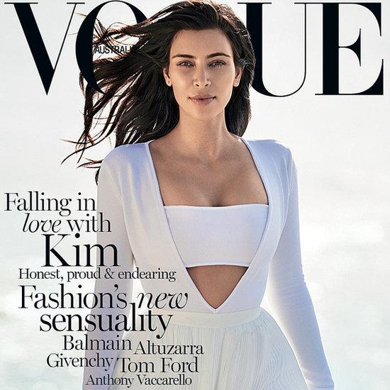 Kim Kardashian Vogue Cover February 2015
