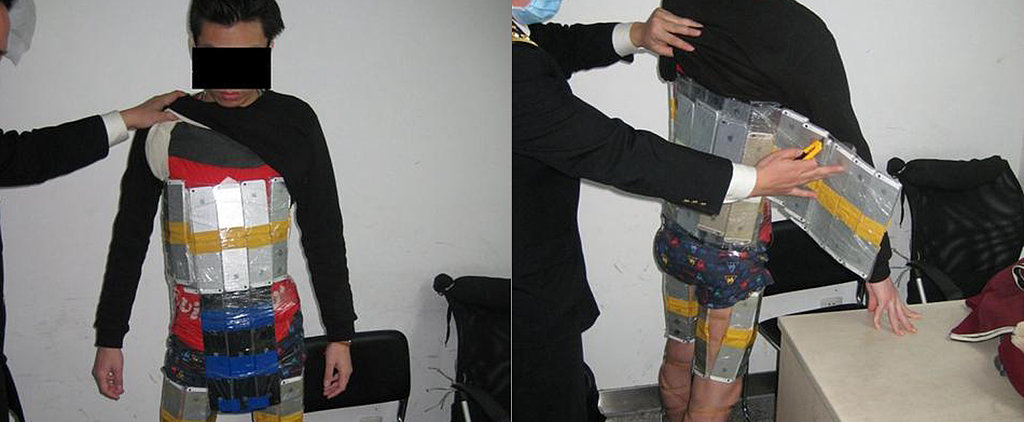 Man Arrested With How Many iPhones Strapped to His Body?!