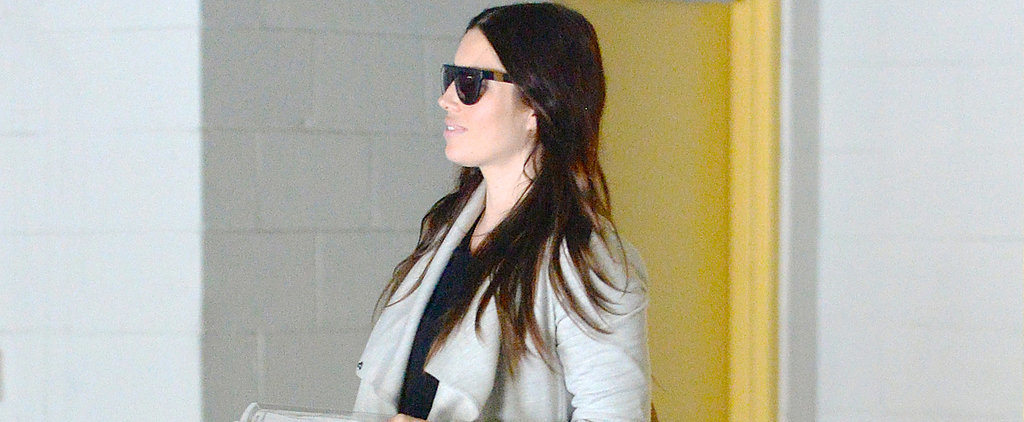 Jessica Biel's Bump Is on Display During a Day Out in LA