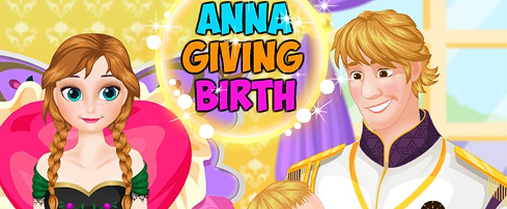 This Frozen App About Anna Giving Birth Is Insanely Weird