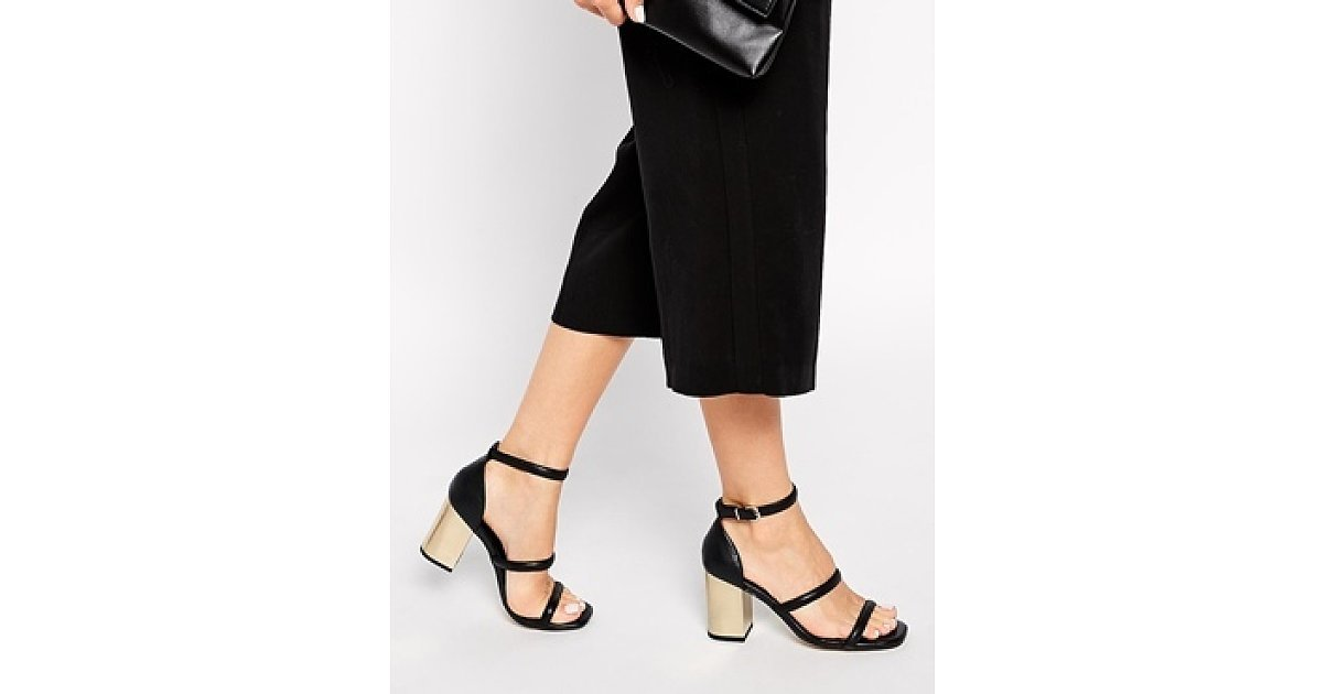Happy Thanks Day >> Senso Robbie Barely-There Heeled Sandals, $260 | Happy Pay Day! Shop 42 Stylish Sandals to See ...