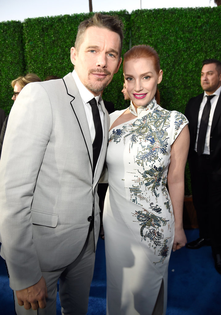 Ethan Hawke and Jessica Chastain
