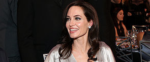 Angelina Jolie Cannot Stop Smiling on Her Solo Night Out