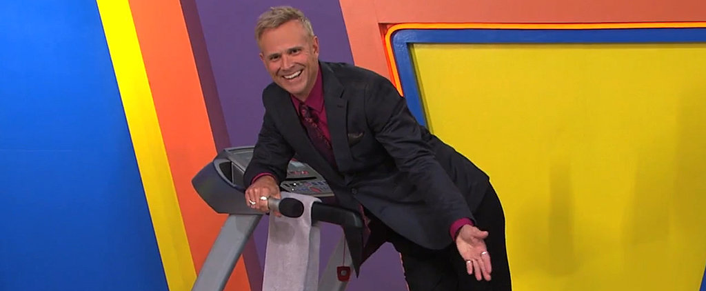 Watch the Price Is Right Announcer Totally Wipe Out on Air