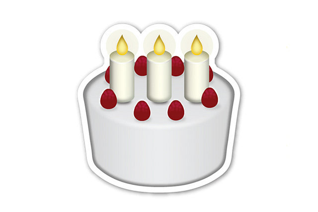 Images Of Birthday Cake Emoji : Real Emoji POPSUGAR Tech