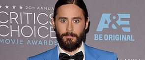Jared Leto Brings the Beautiful Man-Bun Back!