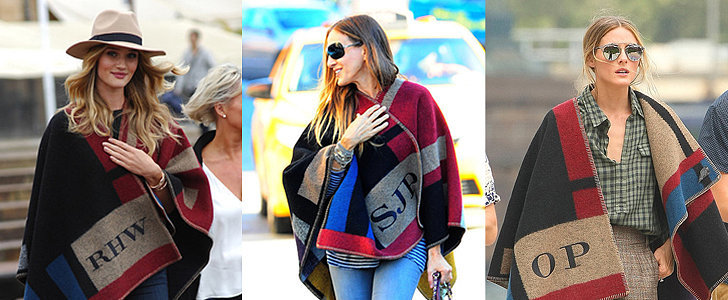 Why Fall 2014 Belonged to the Monogrammed Poncho