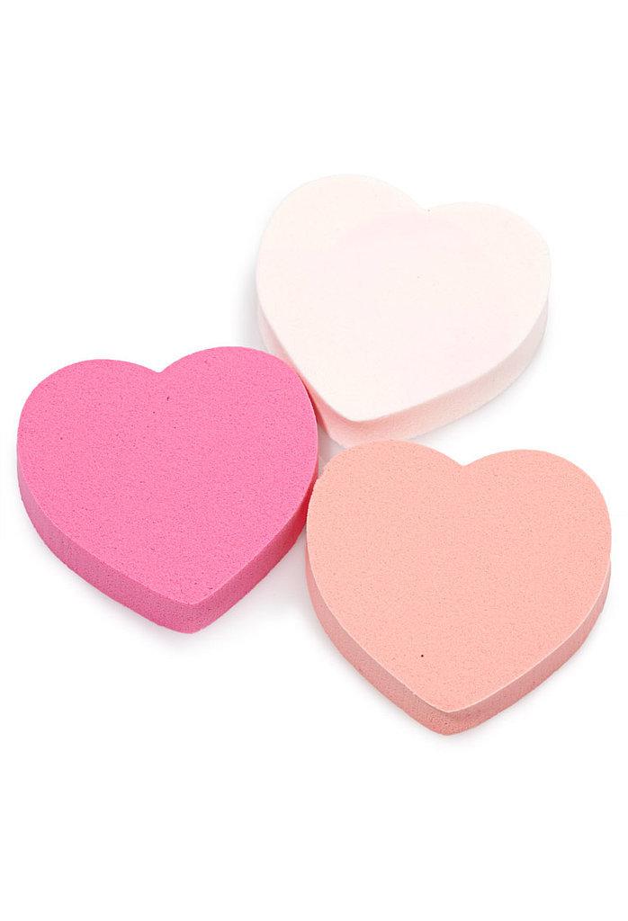 Heart Makeup Sponge Set 4 Have A Heart The Ultimate