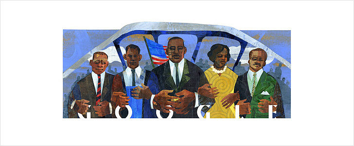 Today's Google Doodle Honors Martin Luther King Jr. in Selma