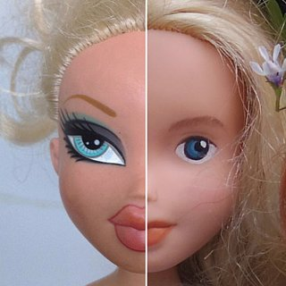 Bratz Dolls Change to Less Makeup