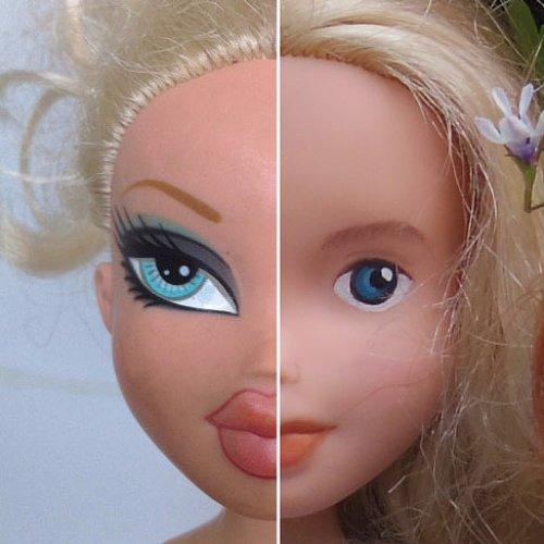 Bratz Dolls Change to Less Makeup
