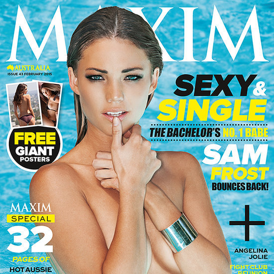 Sam Frost Maxim Magazine Cover and Pictures