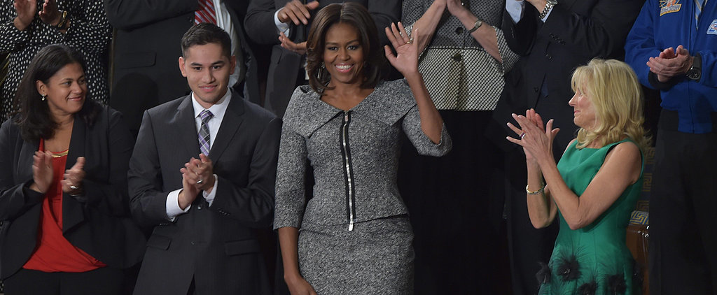Michelle and Barack Obama Had Fun With Fashion Last Night