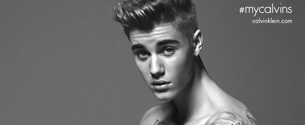 Justin Bieber's Calvin Klein Ads Broke the Internet