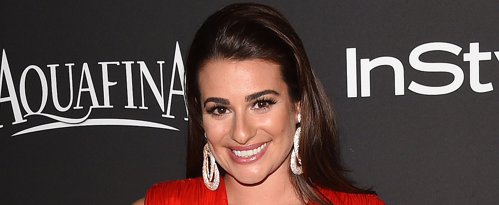 "Lea Michele Vomited on Camera While Singing ""Let It Go"""