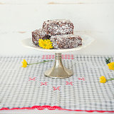 Lamington Recipe: Lorna Jane's Nourishing Lamingtons