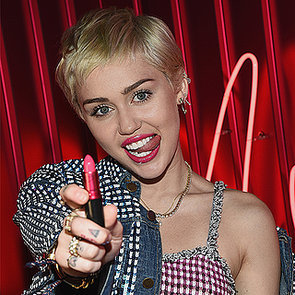 Miley Cyrus Interview on Mac Lipstick, Makeup & Instagram