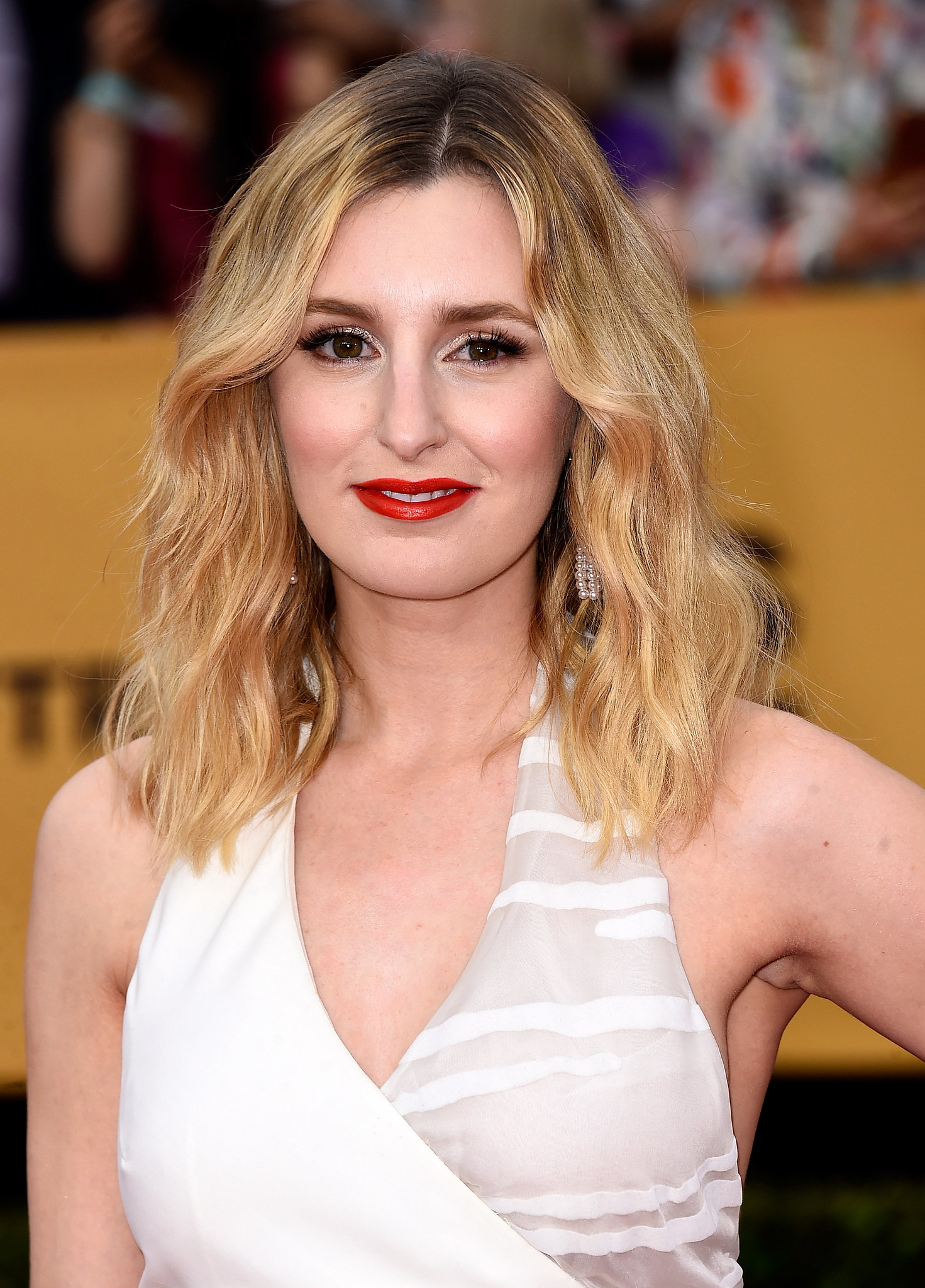 laura carmichael heckled