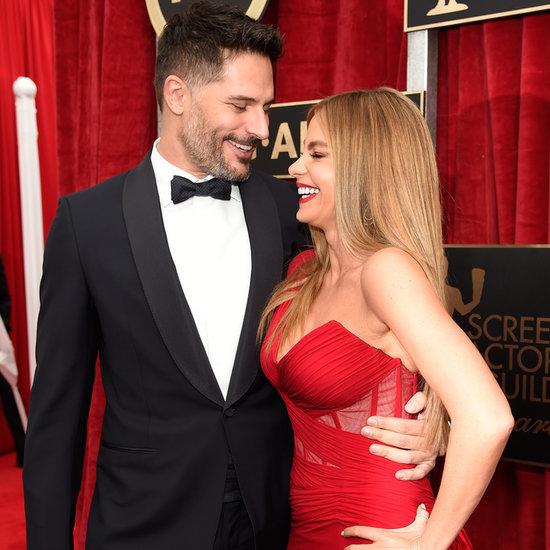 Sofia Vergara and Joe Manganiello at 2015 SAG Awards