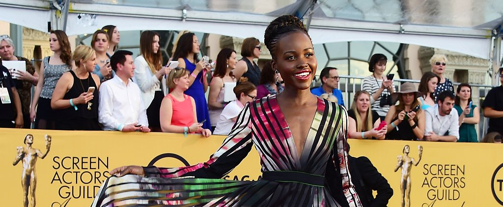 Lupita Nyong'o Looks Absolutely Flawless at the SAG Awards