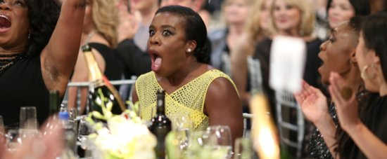 Uzo Aduba's Tear-Filled Speech Was the Highlight of the SAG Awards