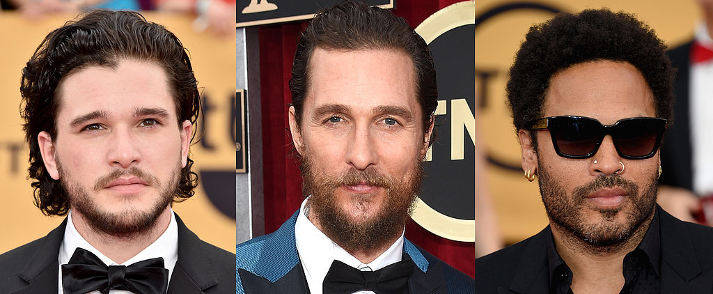 Battle of the Beards: Who Has the Best Scruff at the SAG Awards?