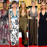 Low Cut Dresses at the SAG Awards 2015